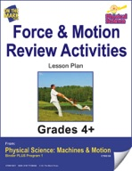 Physical Science - Force & Motion - Review Activities