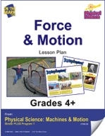 Physical Science - Force & Motion e-lesson plan