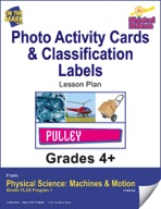 Physical Science - Photo Activity Cards & Classification Labels