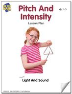 Pitch and Intensity Lesson Plan