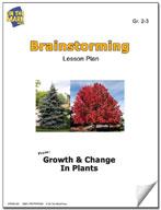 Plant Brainstorming Lesson Plan