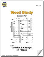 Plant Word Study Lesson Plan