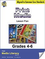 Print Media Lesson Plan (eBook)