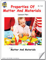 Properties of Matter and Materials Lesson Plan