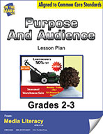 Purpose and Audience Lesson Plan (eBook)