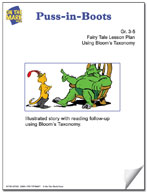 Puss-in-Boots Fairy Tale Lesson Using Bloom's Taxonomy (Gr