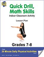 Quick Drill,  Math Skills Lesson Plan (eLesson eBook)