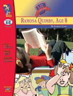 Ramona Quimby, Age 8 Lit Link: Novel Study Guide