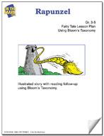 Rapunzel Fairy Tale Lesson Using Bloom's Taxonomy (Grades 3-5)