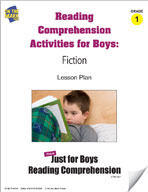 Reading Comprehension Activities for Boys: Fiction Grade 1