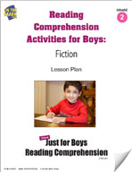 Reading Comprehension Activities for Boys: Fiction Grade 2