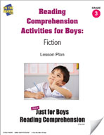 Reading Comprehension Activities for Boys: Fiction Grade 3