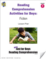 Reading Comprehension Activities for Boys: Fiction Grade 7