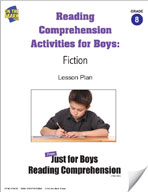 Reading Comprehension Activities for Boys: Fiction Grade 8