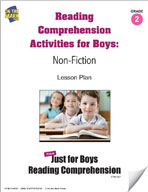 Reading Comprehension Activities for Boys: Non-Fiction Grade 2