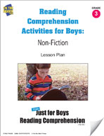 Reading Comprehension Activities for Boys: Non-Fiction Grade 3