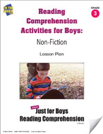 Reading Comprehension Activities for Boys: Non-Fiction Grade 3