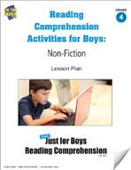 Reading Comprehension Activities for Boys: Non-Fiction Grade 4