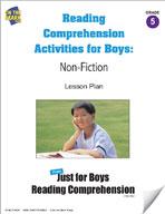 Reading Comprehension Activities for Boys: Non-Fiction Grade 5