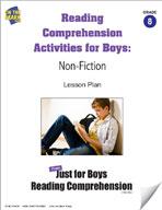 Reading Comprehension Activities for Boys: Non-Fiction Grade 8