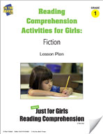 Reading Comprehension Activities for Girls: Fiction Grade 1