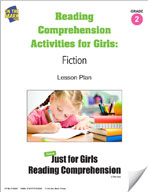 Reading Comprehension Activities for Girls: Fiction Grade 2