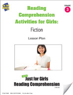 Reading Comprehension Activities for Girls: Fiction Grade 3