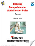 Reading Comprehension Activities for Girls: Fiction Grade 4