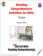 Reading Comprehension Activities for Girls: Fiction Grade 5