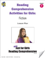 Reading Comprehension Activities for Girls: Fiction Grade 7