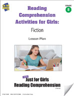 Reading Comprehension Activities for Girls: Fiction Grade 8