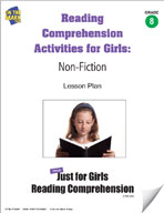 Reading Comprehension Activities for Girls: Non-Fiction Grade 8