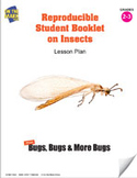 Reproducible Student Booklet on Insects Lesson Plan
