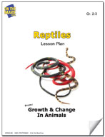 Reptiles Lesson Plan