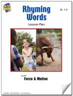 Rhyming Words Lesson Plan