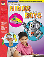 ¡Sólo para niños! Lectura-Comprensión/Just for Boys 1-3 Algined to Common Core (eBook)