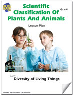 Scientific Classification of Plants and Animals Lesson Plan
