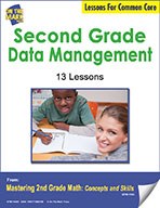 Second Grade Data Management Lessons for Common Core (eLesson eBook)