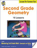 Second Grade Geometry Lesson for Common Core (eLesson eBook)