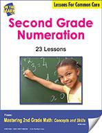 Second Grade Numeration Lessons for Common Core (eLesson eBook)