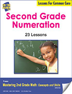 Second Grade Numeration Lessons for Common Core (eLesson eBook)