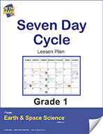 Seven Day Cycle Gr. 1 (e-lesson plan)