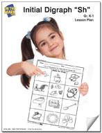 """""""Sh"""" Digraph Lesson Plan"""