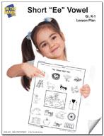 """Short """"e"""" Vowel Lesson Plan"""
