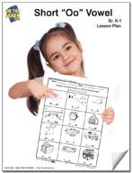 "Short ""o""  Vowel Lesson Plan K-1"
