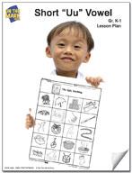 "Short ""u"" Vowel Lesson Plan K-1"