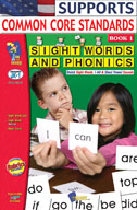 Sight Words and Phonics Book 1 (Enhanced eBook)