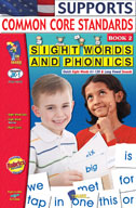 Sight Words and Phonics Book 2 (Enhanced eBook)
