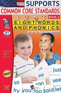 Sight Words and Phonics Book 4 (Enhanced eBook)