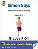 Simon Says Lesson Plan (eLesson eBook)